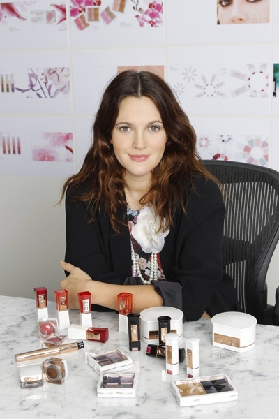 Drew-Barrymore-cosmetics-collection-launch