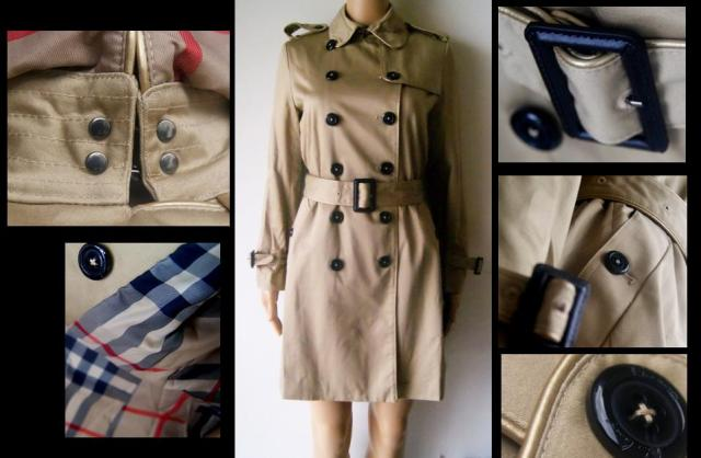 BROWN BURBERRY COAT